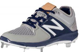 New Balance metal sports shoes
